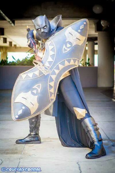 A Black Panther Cosplay Worthy to Rule Wakanda